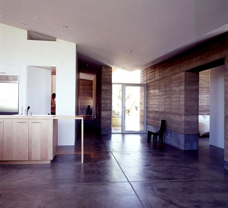 ein perfekt an die w ste angepasstes haus bungalows sch ner wohnen. Black Bedroom Furniture Sets. Home Design Ideas