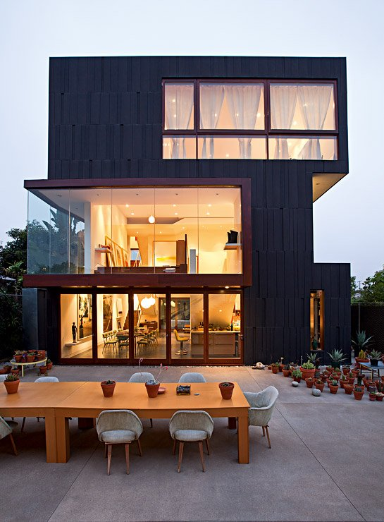 architektenh user wohn und atelierhaus in los angeles sch ner wohnen. Black Bedroom Furniture Sets. Home Design Ideas