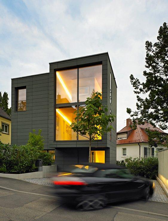 architektenhaeuser familienhaus auf kleinem grund