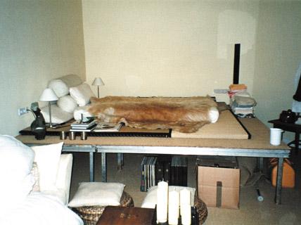 schlecht improvisiert keine klare trennung von wohnen und schlafen kombi raum sch ner wohnen. Black Bedroom Furniture Sets. Home Design Ideas