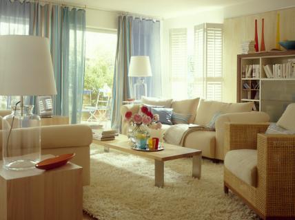 neue offenheit hell und gem tlich wohnzimmer sch ner wohnen. Black Bedroom Furniture Sets. Home Design Ideas