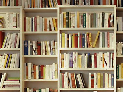 bibliothek sideboards wohnzimmer sch ner wohnen. Black Bedroom Furniture Sets. Home Design Ideas