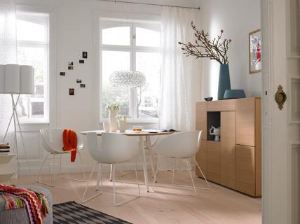 mit eleganz zu mehr wohnlichkeit wohn und esszimmer sch ner wohnen. Black Bedroom Furniture Sets. Home Design Ideas