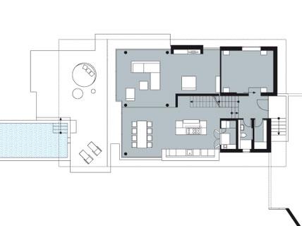 futuristische hangvilla sonstige sch ner wohnen. Black Bedroom Furniture Sets. Home Design Ideas