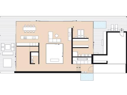 Das atriumhaus am see klassisch modern sch ner wohnen for Atriumhaus bauen