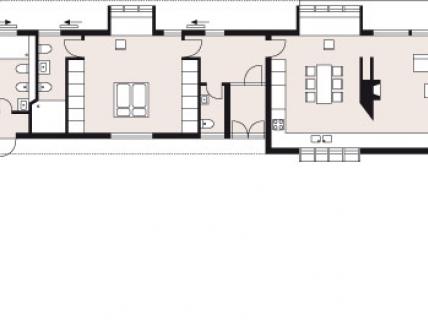 ein haus mit zwei gesichtern zeitgen ssisch modern sch ner wohnen. Black Bedroom Furniture Sets. Home Design Ideas