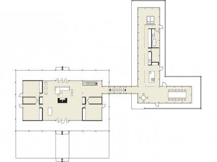 mit bedacht erg nzter pavillon bungalows sch ner wohnen. Black Bedroom Furniture Sets. Home Design Ideas