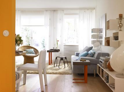 frische farben setzen akzente wohnzimmer sch ner wohnen. Black Bedroom Furniture Sets. Home Design Ideas