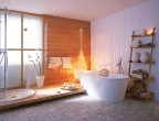 Badezimmer als Private-Spa